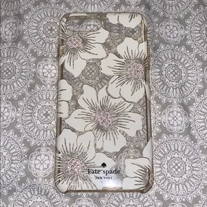 Kate Spade iPhone Case with Flowers